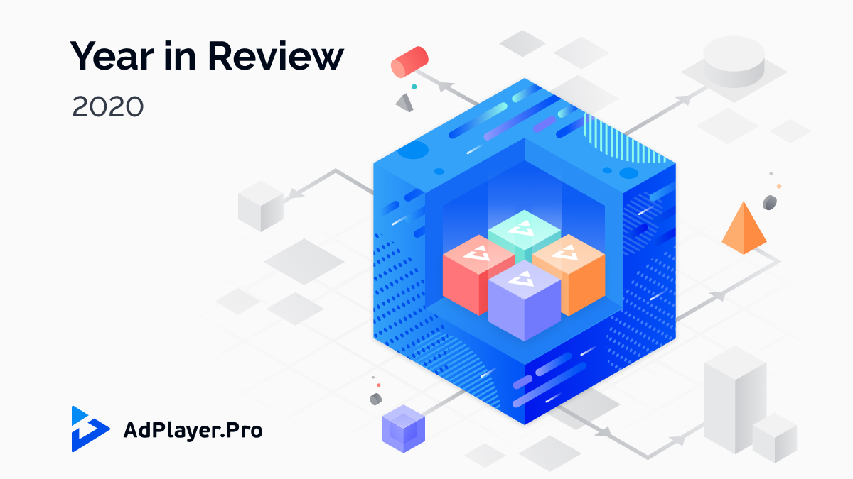 [INFOGRAPHIC] AdPlayer.Pro: 2020 in Review